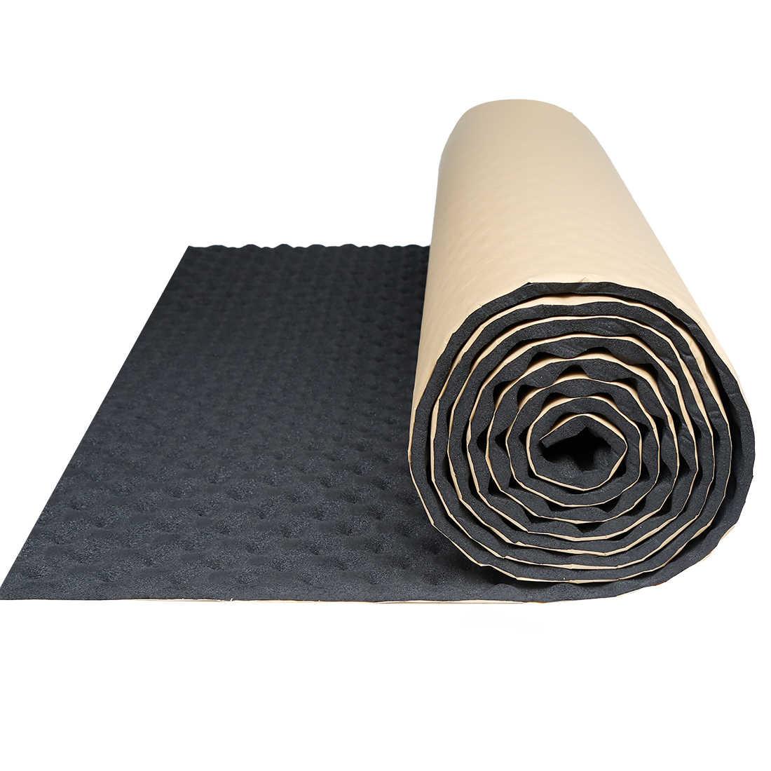 uxcell 50 100 200 300 500cm insonorisation tapis d isolation bruit bouclier thermique isolation automobile amortissement mousse coton son