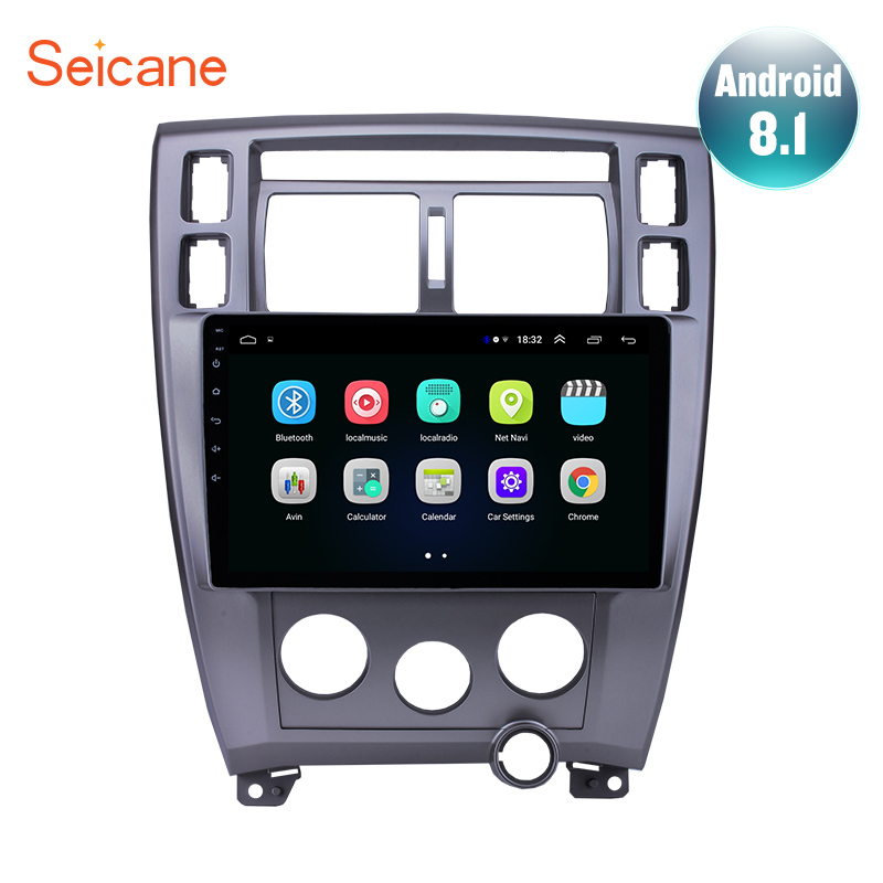 """Seicane Android 8.1 10.1"""" Car Radio GPS For Hyundai Tucson 2006 2007 2008 2009 2013 Left Hand Drive Navigation Multimedia Player-in Car Multimedia Player from Automobiles & Motorcycles    1"""