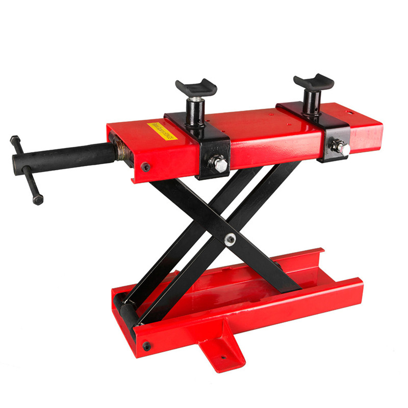 500KG Scissor Hoist Jack Lifting Cranes Motorcycle Repair Stand Center Scissor Lift Hoist Workshop Bench Lifting Tool