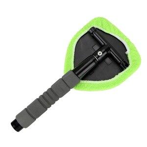 Image 5 - LEEPEE eliminador de niebla para ventana, limpiador de microfibra para limpieza de parabrisas de coche, cepillo telescópico de vidrio