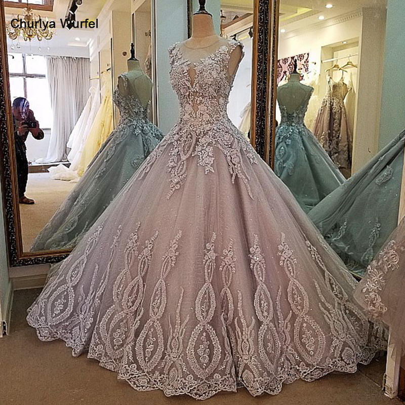 LS00017 Evening Dress Lace Beading Ball Gown Long Party Formal Dress Organza Robe De Soiree Abendkleider 2017 Real Photos