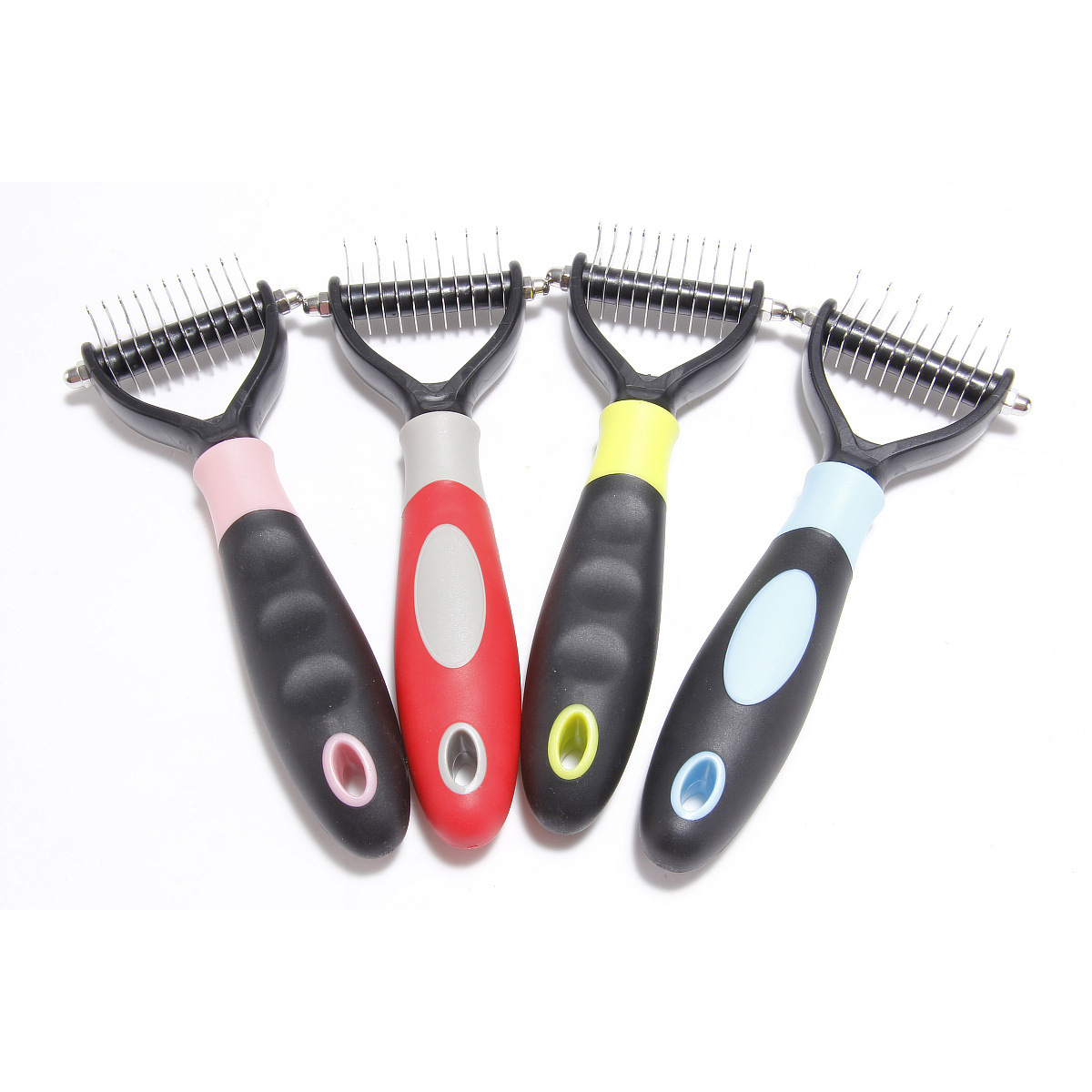 1 Pcs Dog Cat Puppy Pets Comb Brush Fur Knot Cutter Remove Rake Grooming Shedding Brush Comb Pet Beauty Supplies