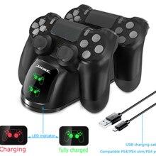 Быстрая зарядка PS4 док-станция двойной контроллер зарядное устройство зарядная станция геймпад подставка держатель база для SONY playstation 4 PS4/Pro/Slim