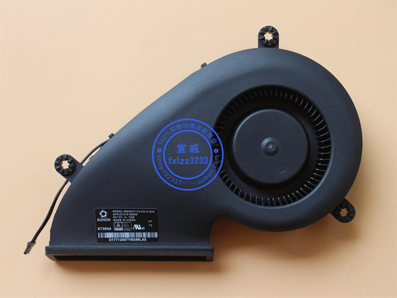 "For Apple iMac A1418 Late 2015 MK452LL 21.5/"" Cooling Fan 610-00009 610-00006"