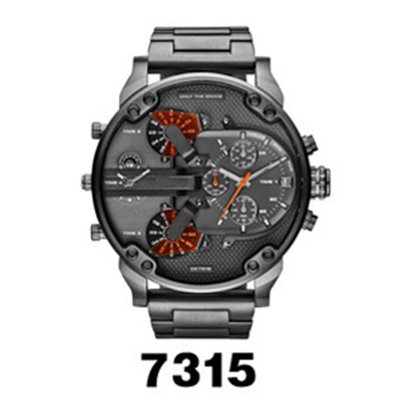 Watch Men Watches Top Brand Luxury Stainless Steel Large Dial Quartz Watch Male Clock Wristwatch Relogio Masculino Drop Shipping