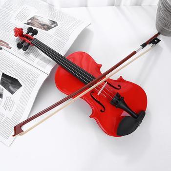 1 8 szyna jasne skrzypce akustyczne skrzypce z kalafonii Case Bow tłumik zestawy jasne skrzypce akustyczne skrzypce Instrument muzyczny tanie i dobre opinie CN (pochodzenie) LIPA Tree Aluminium alloy Violin Maple