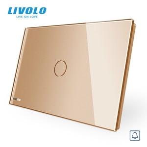 Image 3 - Livolo Muur Schakelaar, Deurbel Ring Switch, Glass Panel, Us Standard Touch Screen Lichtschakelaar, met Led Indicator