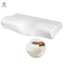 Poduszka z pianki memory poduszki ortopedyczne do spania powolne powracanie do kształtu w kształcie motyla poduszka zdrowie poduszka pod kark szyjny