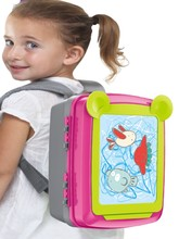 The new multi-functional children's drawing board doodle backpack is the first choice for children's gift, including a brush set the first drawing