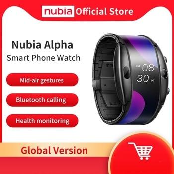 "Global Version Nubia Alpha Smart Phone Watch 4.01"" Foldable Flexible Screen Snapdragon 8909W Bluetooth calling 1"