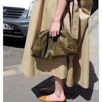 women clutch bag fashion black clutch envelope genuine leather handbag designer luxury handbags women hand bags cloud bag tote