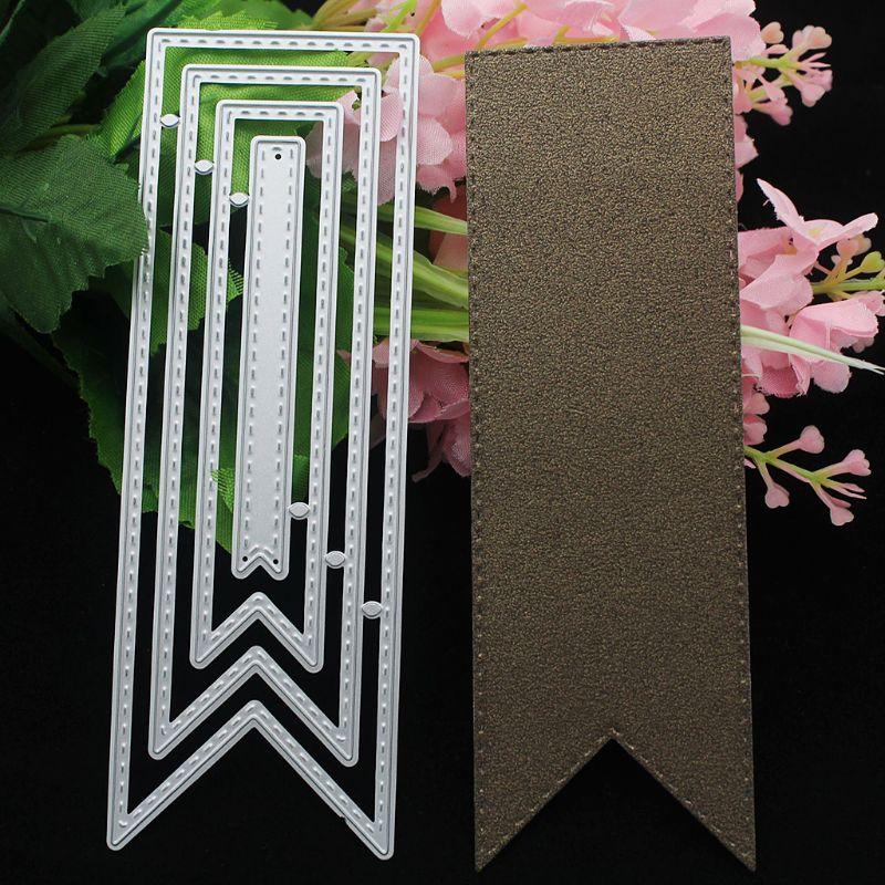 Ribbon Metal Cutting Dies Stencil DIY Scrapbooking Album Stamp Paper Card Embossing Decor Crafts