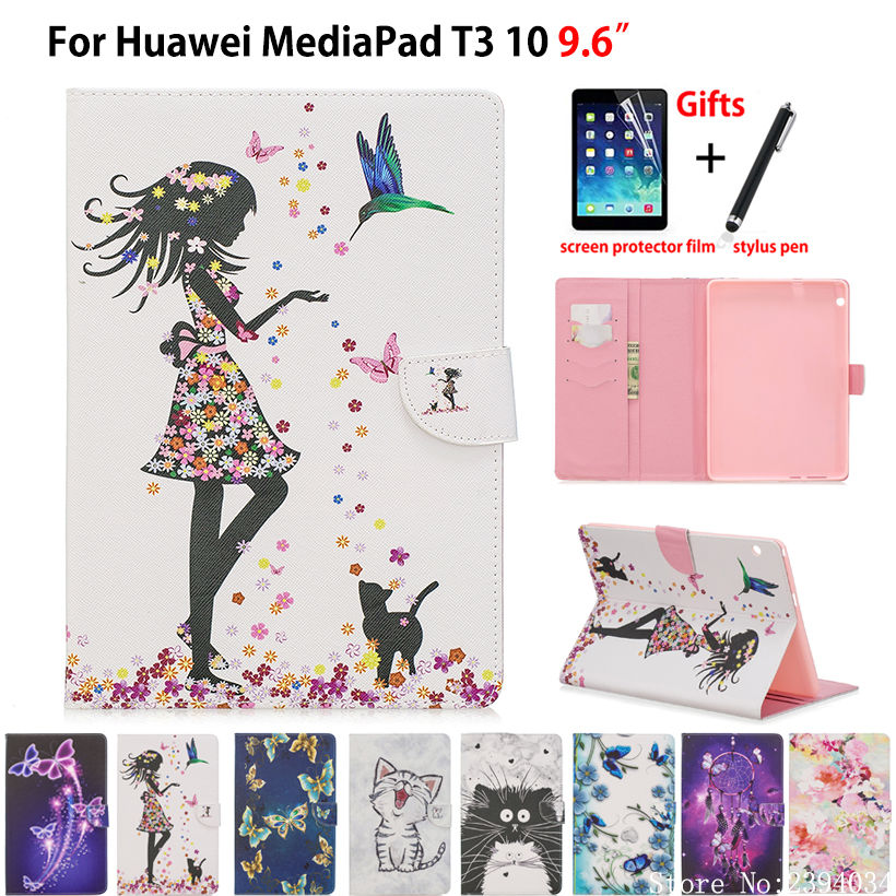 Tablet Case For Huawei MediaPad T3 10 AGS-W09 AGS-L09 AGS-L03 9.6