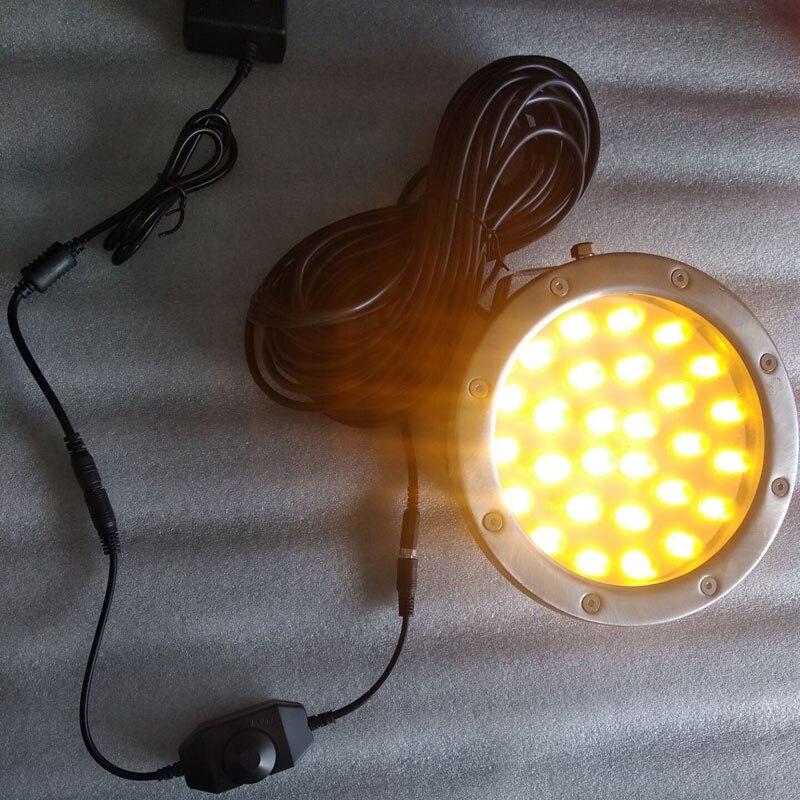 Multi cor 52 leds 15 ° penetra 50 m indicador de atração de peixes de água profunda lâmpada isca led piscando pesca luz - 2