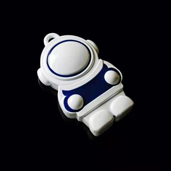 Metal mini spaceman USB2.0 memory flash pendrive  4GB 8GB 16GB 32GB 64GB 128GB