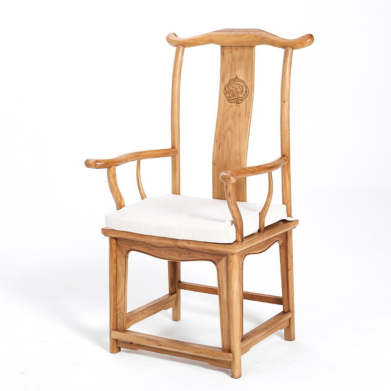 Chair Solid Wood Dining Chair Northern Europe Chair A Living Room Bedroom Wrought Iron Leisure Time To Work In An Office Chair