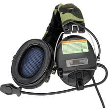 전술 전자 SORDIN 슈팅 헤드폰 소음 감소 픽업 에어건 군사 전술 헤드셋 Softair BK