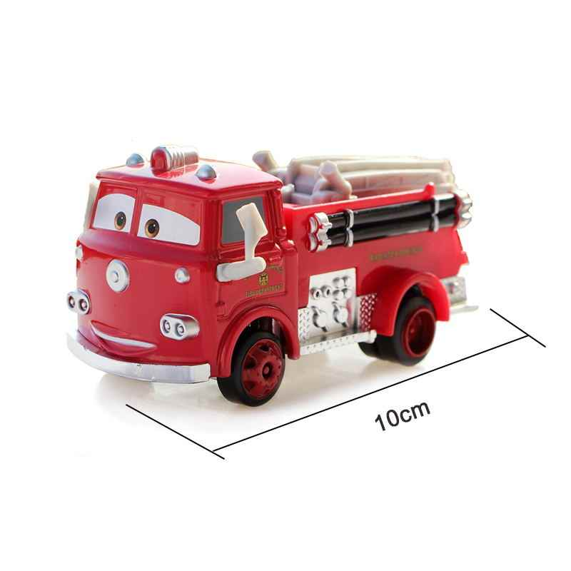 Disney Pixar Cars 3 Lightning McQueen Jackson Storm Mater 1:55 Diecast โลหะผสมรุ่นรถของเล่นคริสต์มาสของขวัญเด็ก