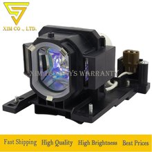 high quality DT01022 DT01026 Replacement Lamp with Housing for Hitachi CP-RX80W CP-RX78 ED-X24 CP-RX78W CP-RX80 projectors compatible lamp bulb dt01051 for hitachi cp x4020e cp x4020 projectors