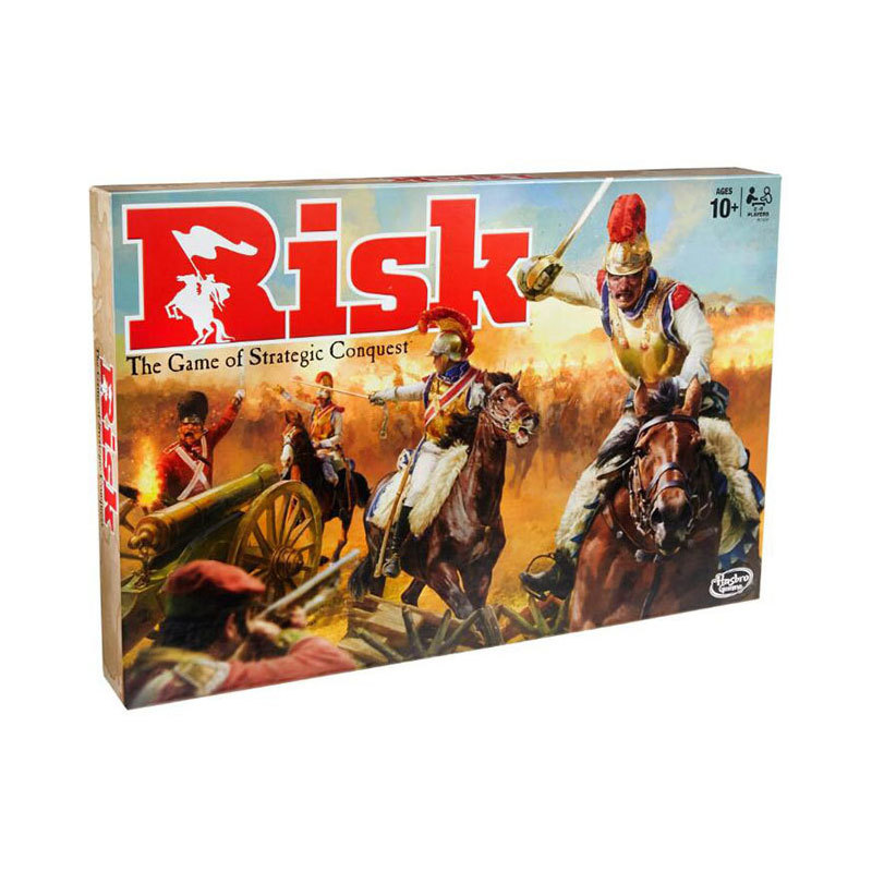 RISK Strategy Board Game Global Domination Table Games English Version Parent-child Interaction Children's Educational Toys