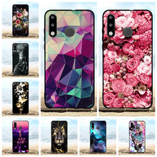 For Huawei P30 lite Cover Soft TPU MAR L01A L21A LX1A Case Flowers Patterned Shell Bag