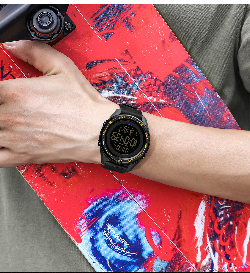 livre relógios masculinos multifunções à prova dmultifunction