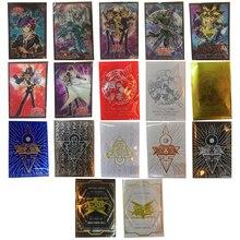 50 шт./лот игры Yu-Gi-Oh! Игровая коллекция карт Профессиональный Пластик куртка держатель для карт различных Цвета Чехол для карт