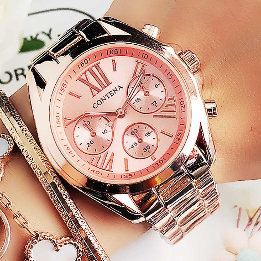 Neue frauen Uhren Frauen Top Berühmte Marke Luxus Casual Quarzuhr Weibliche Damen Uhren Frauen Armbanduhren relogio feminino