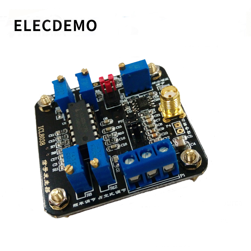 ICL8038 Low Frequency Signal Source Signal Generator Module Sine Wave Triangular Wave Square Wave Waveform Generation