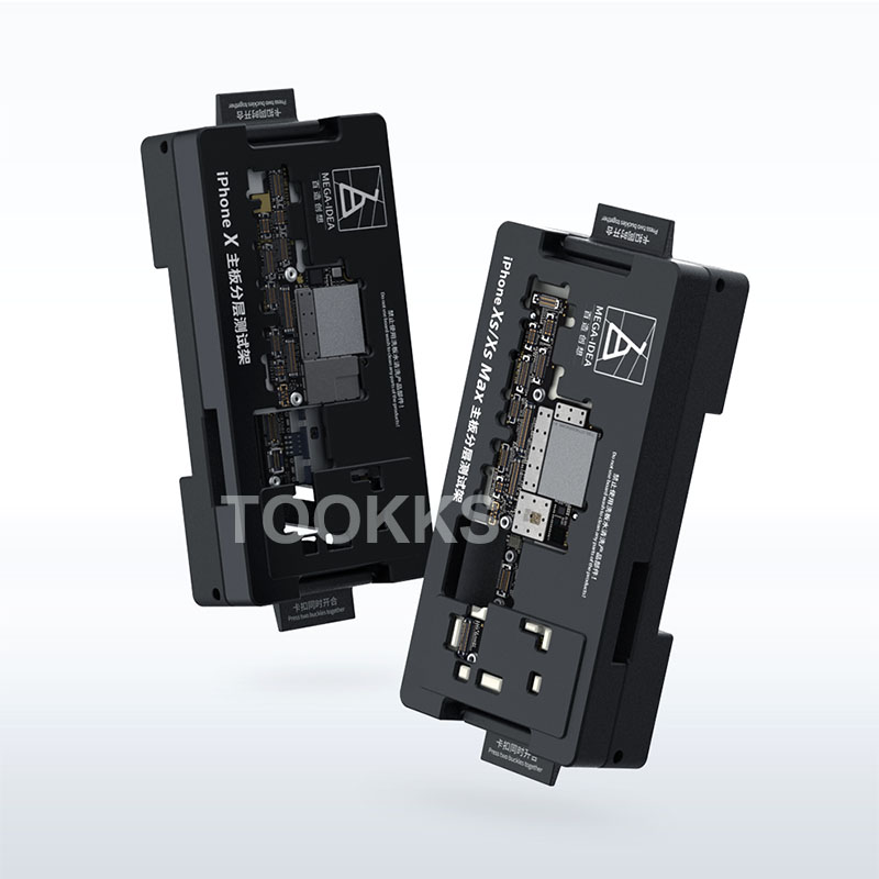 For IPhone X/XS /XS Max Motherboard Test Fixture Double-deck Motherboard Function Tester Upated From Qianli ISocket