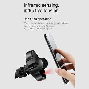 Image 2 - Mcdodo אוטומטי אינפרא אדום צ י אלחוטי מטען לרכב Stand אוויר Vent הר 10W מהיר טעינה עבור iPhone XS מקס סמסונג צ י רכב טלפון בעל