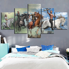 Canvas Painting Frame Home Decoration 5 Pieces Game Pictures Hd Printed Brand New Poster For Living Room Modern Wall Artwork