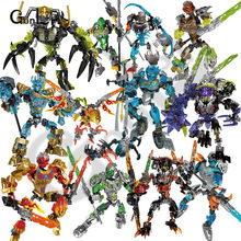 ใหม่ Bionicle Mask of Light Bionicle Lewa ป่า Keeper of the Grove Building Block (China)