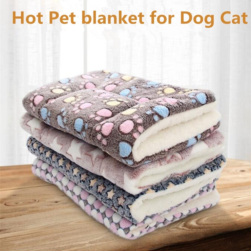 Pet Mat Thickened Autumn And Winter Warm Cat And Dog Universal Blanket Non-slip Cushion