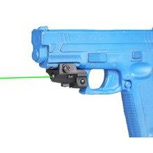 Laserspeed Mini zielony celownik laserowy Tactical Glock Taurus G2C pistolet akcesoria karabin pneumatyczny Mira Laser 9mm celownik do strzelania