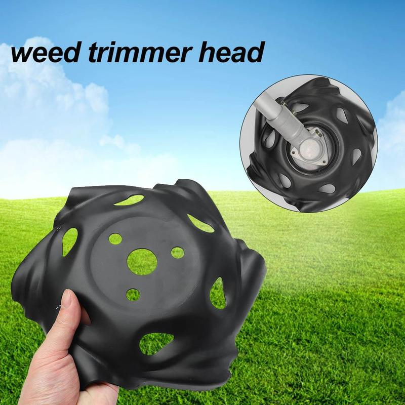 Universal Garden Grass Weed Trimmer Head Electric Brush Cutter Blade Tray Irrigation Cutter Dragon Claw Disc Rounded Edge Wheels