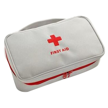 Portable First Aid Kit Bag Emergency Medicine Bag Outdoor Pill Survival Organizer Travel Survival Rescue Box Storage Package
