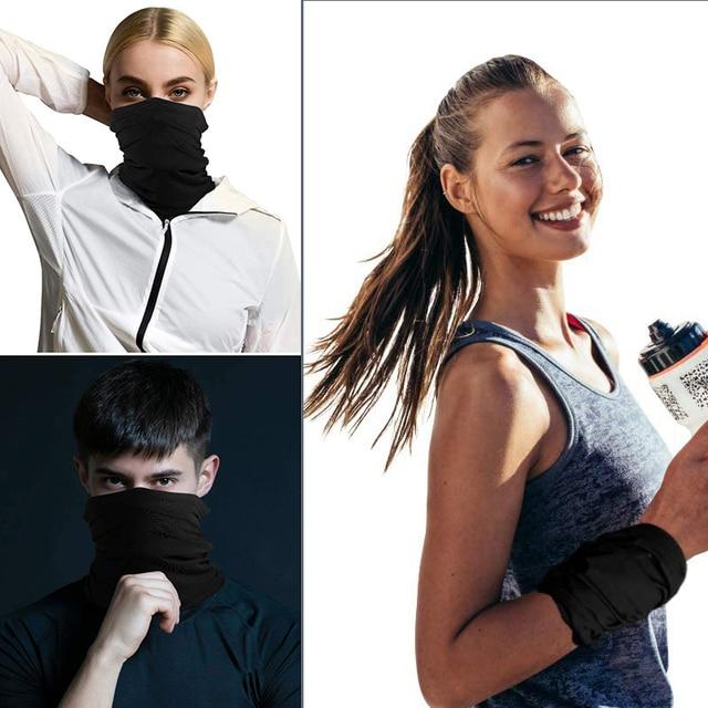 6PCS Balaclava Tube Motorcycle Neck Face Mask Scarf Bicycle Hunting Outdoor Ride Bandana Headband Cool Face Shield 4