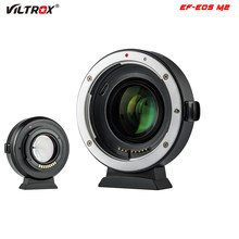 Viltrox EF-EOS M2 Lens adapter ring Electronic Auto Focus Lens adapter 0.71x for Canon EF mount lens to EOS M M6 M5 M100 Camera