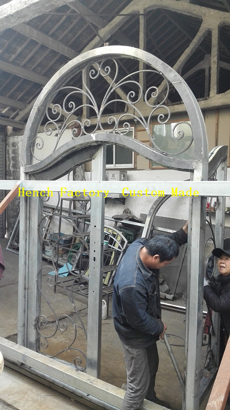 Shanghai Hench Brand China Factory 100% Custom Made Sale Australia Best Iron Doors