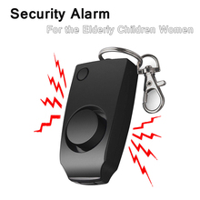 Alarm 130dB Women Security Protect Attack Self defense Emergency Keychain anti rape Loud Keychain Emergency Alarm