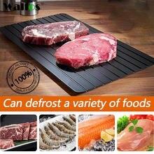 Walfos быстрое размораживание лоток размораживайте Еда Мясо