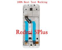 цена на 100% Original LCD+Frame For Xiaomi Redmi 5 Plus LCD Display Screen Replacement For Redmi 5 Plus LCD Screen