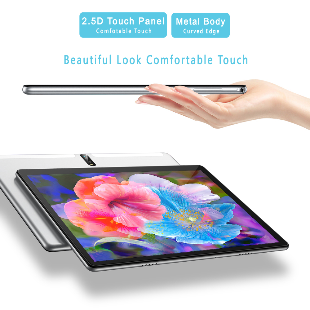 New Tablet Pc 10.1 Inch Android 9.0 Tablets Octa Core Google Play 3G 4G LTE Phone Call GPS WiFi Bluetooth 10 Inch Glass Panel 2