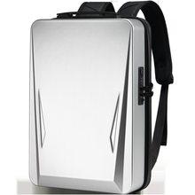 Suutoop men anti-roubo 17.3 Polegada computador portátil mochila computador rígido escudo notebook usb à prova dwaterproof água mochilas sacos de viagem pacote para masculino 2021