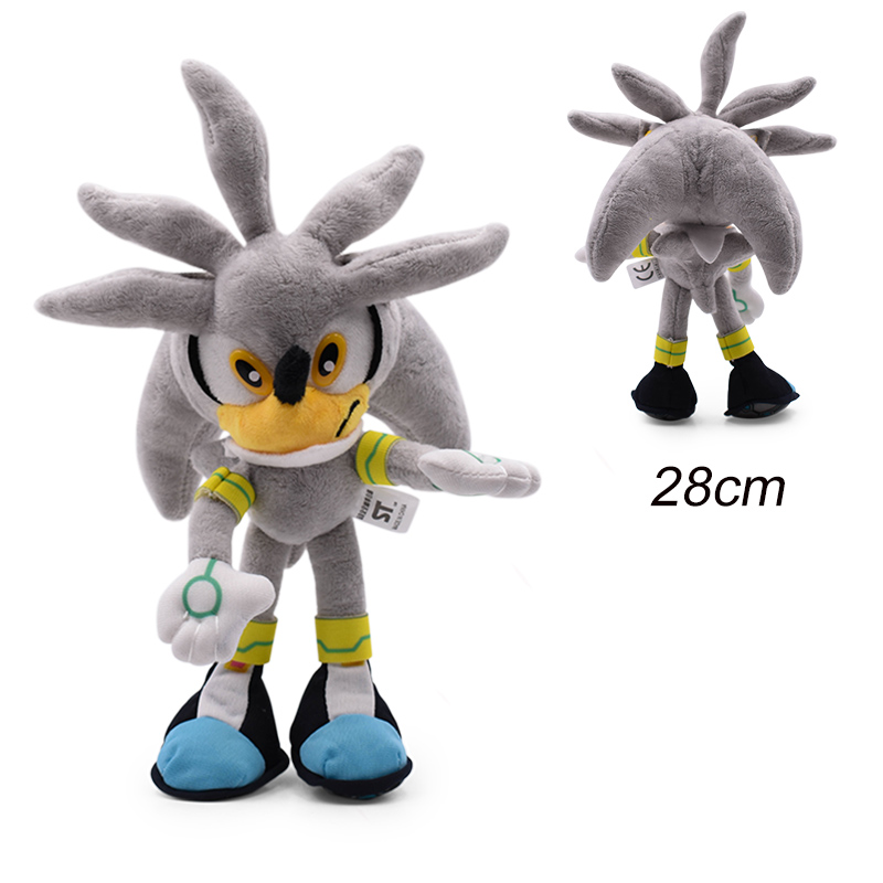 30cm Sonic Plush Doll Toys Hot Sale Sonic Shadow Amy Rose Cotton Soft Stuffed Game Doll Toys For Kids Chris Gift For Kids 6