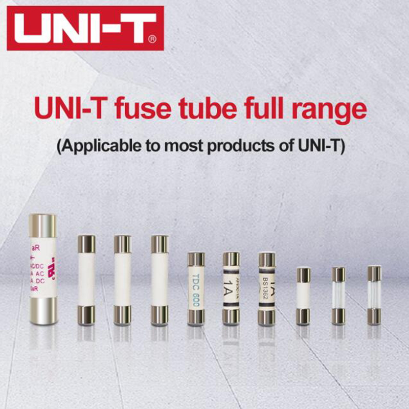 UNI-T Cartridge Fuse Fast Acting Fuse Porcelain Tube For Uni-t Multimeter UT61 UT139 UT890 UT39 <font><b>UT105</b></font> UT171 Series. image