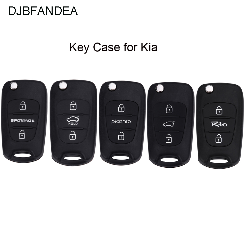 DJBFANDEA 3Button for For <font><b>KIA</b></font> K2 K5 Rio Piconto <font><b>Sportage</b></font> 2006 2007 2008 2009 2010 <font><b>2011</b></font> 2012 2013 for Hyundai ix35 <font><b>Key</b></font> Case Fob image