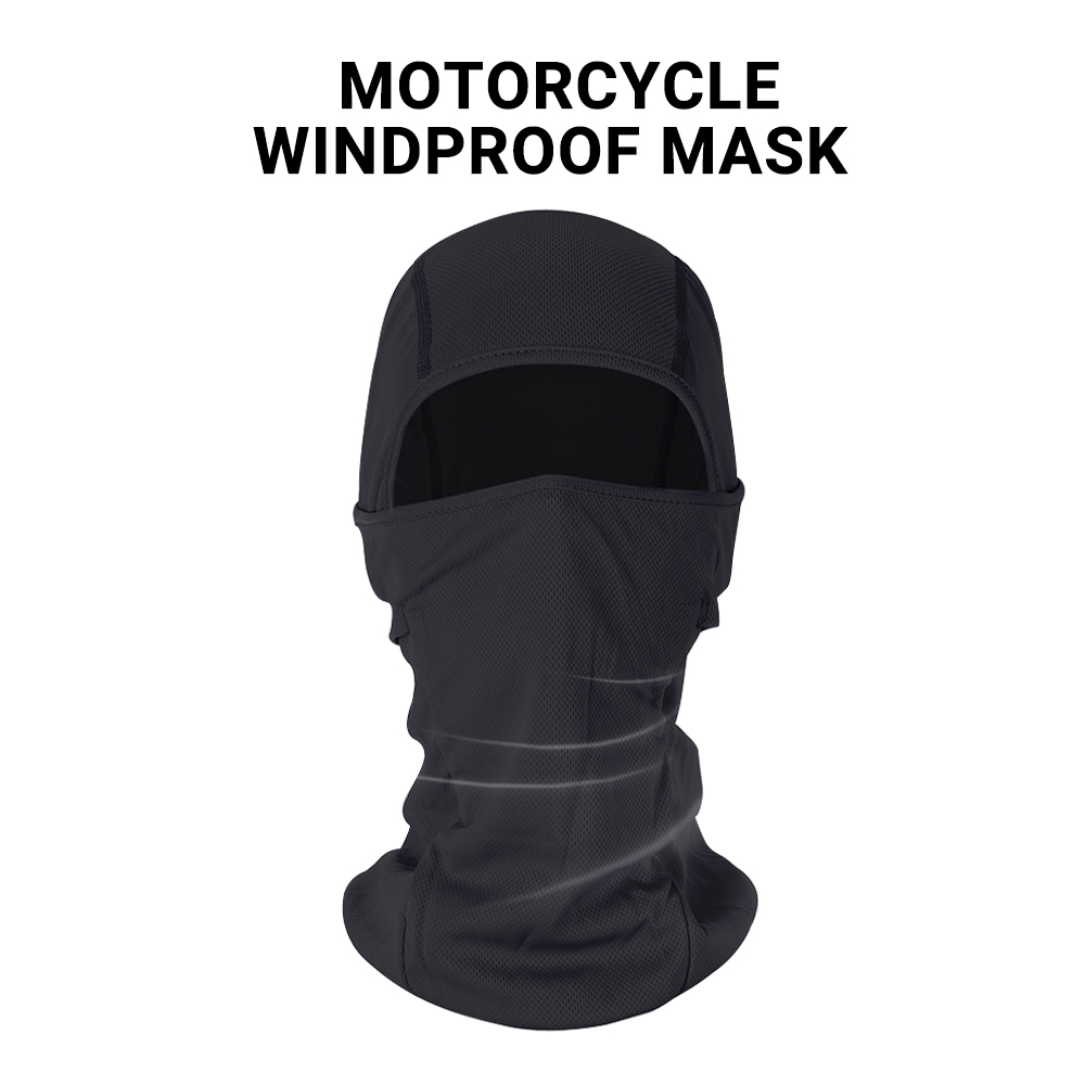 HEROBIKER Motorcycle Face Mask Balaclava Warm Windproof Breathable Cycling Ski Face Shield Airsoft Paintball Helmet Mask Moto