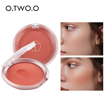 O.TWO.O Bouncy Blush Matte Makeup Lightweight Face Blusher Natural Rouge Cheek Blusher Peach Contouring For Face  Cosmetics 1